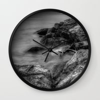 rush Wall Clocks featuring Rush by Mark Alder