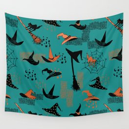 Halloween Witch Hats Wall Tapestry