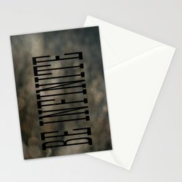 Be Infinate Stationery Cards