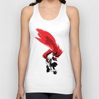 thor Tank Tops featuring Thor by Irene Flores