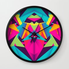 Friendly Color Wall Clock