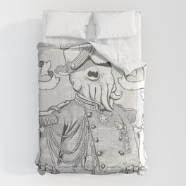 I for one welcome our Amphibious Alien Overlords Comforters