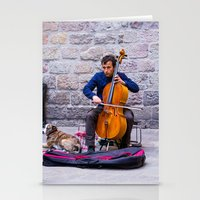 cello Stationery Cards featuring Cello by Fernando Derkoski
