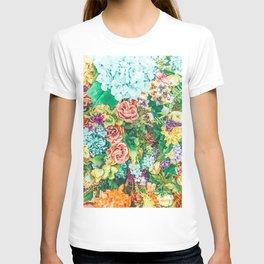 Vintage Garden #digital #nature T-shirt