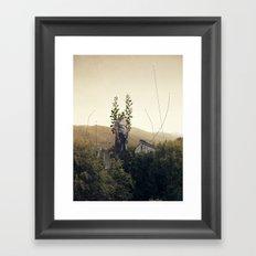 Forest Angel Framed Art Print