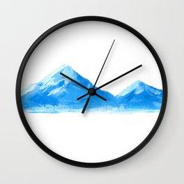 Mountain Study Wall Clock