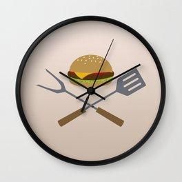 Jolly Burger Wall Clock