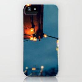Winter Lights iPhone Case