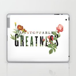 Unstoppable Greatness Laptop & iPad Skin