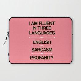 Language Proficiency Laptop Sleeve