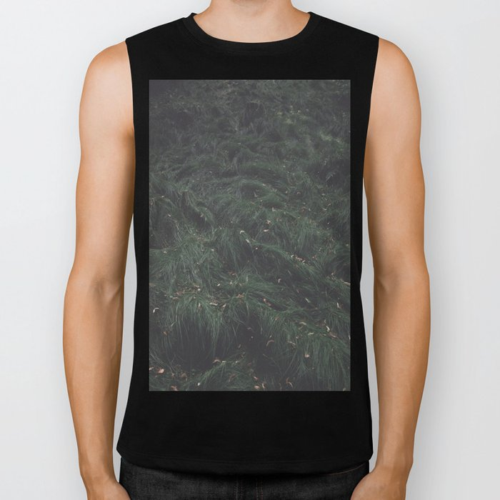 Leave(s) - Nature Photography Biker Tank