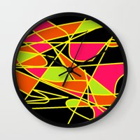 art deco Wall Clocks featuring DECO by ....