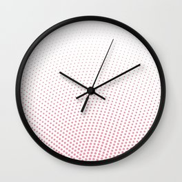 Intensive phobia: Pink Wall Clock