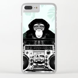 Jungle Music 02 Clear iPhone Case