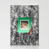 punk Stationery Cards featuring PUNK by MODERN UNDERGROUND