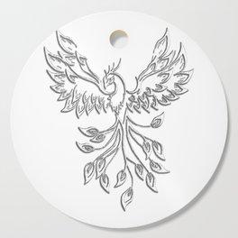 White Phoenix Cutting Board