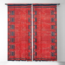 Yüncü Balikesir Northwest Anatolian Kilim Print Blackout Curtain