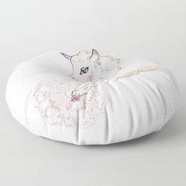 Wise Sheep Floor Pillow