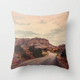 Desert Solitude Throw Pillow