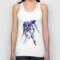 gundam Tank Tops featuring Gundam Wing by bimorecreative