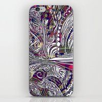 champagne iPhone & iPod Skins featuring Champagne by Dan Ellwood