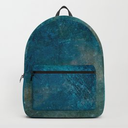 Blue Gray grunge | Grungy | Blue coral | Grunge Decor Backpack