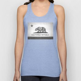 California Republic state flag Unisex Tank Top