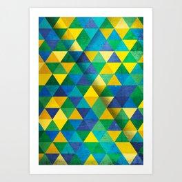 Geometric - BR II Art Print