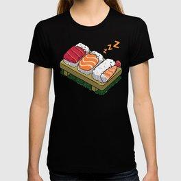 Sushi sleeping T-shirt