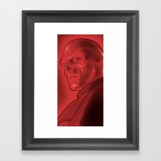 The Red Skull Framed Art Print