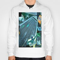 swimming Hoodies featuring Swimming by Robin Curtiss