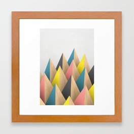 Anechoic Reflection Framed Art Print