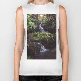 Jungle Waterfall Biker Tank