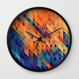 Pixel Splash Wall Clock