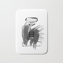 Black perfume #2 Bath Mat
