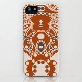 Goldilocks and three bears  iPhone Case
