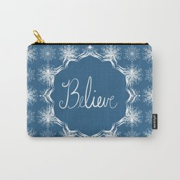 Winter Snow Believe Carry-All Pouch