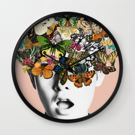 Twiggy Surprise Wall Clock