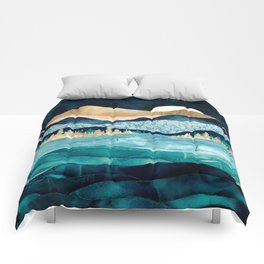 Midnight Ocean Comforters