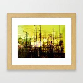 Filaire Framed Art Print