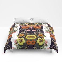 Floral Crossings 02 Comforters