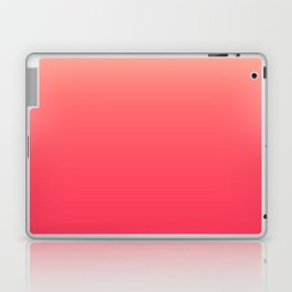 Coral Pink Ombre Laptop & iPad Skin
