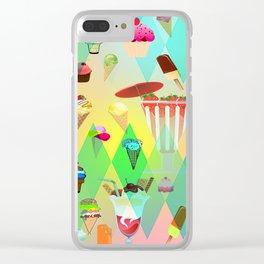 ice crim Clear iPhone Case