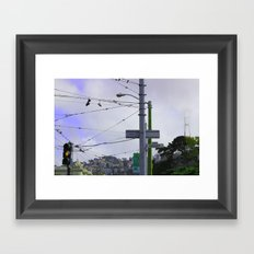 End Haight...Love Framed Art Print