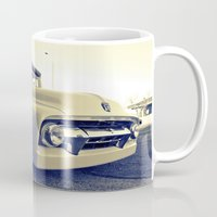 ford Mugs featuring Ford nostalgia by Vorona Photography