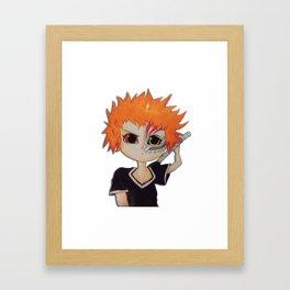 Baby ichigo Fan Art -Bleach Framed Art Print