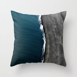 Coast 3 Throw Pillow