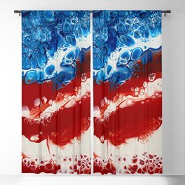 Patriotic Acrylic Blackout Curtain