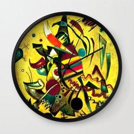 Wassily Kandinsky - Points - Abstract Art Wall Clock