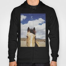 Cloudy Horse Head Hoody